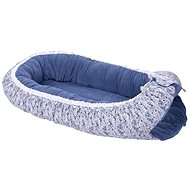 KIKADU Hniezdo pre bábätko modré - Detský nábytok