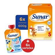 Sunar Complex 5 – 6× 600 g + Krtkova sada - Dojčenské mlieko