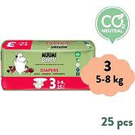 MUUMI BABY Midi veľ. 3 (25 ks) - Eko plienky
