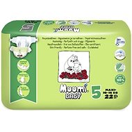 MUUMI BABY Maxi+ veľ. 5 (22 ks) - Eko plienky