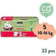 MUUMI BABY Maxi+ veľ. 5 (22 ks) - Detské plienky