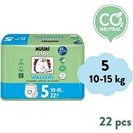 MUUMI BABY Walkers Maxi+ veľ. 5 (22 ks) - Detské plienky