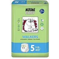 MUUMI BABY Walkers Maxi+ veľ. 5 (40 ks) - Eko plienky