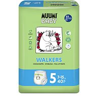 MUUMI BABY Walkers Maxi+ veľ. 5 (40 ks) - Detské plienky