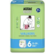 MUUMI BABY Walkers Junior veľ. 6 (36 ks) - Eko plienky