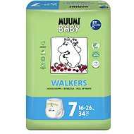MUUMI BABY Walkers Extra Large veľ. 7 (34 ks)