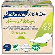 VUOKKOSET 100 % BIO Normal Wings thin 12 ks - Eko menštruačné vložky