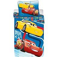Jerry Fabrics Cars Blue 02 - Detská posteľná bielizeň