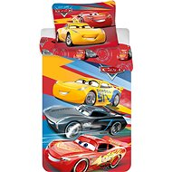Jerry Fabrics Cars Red 02 - Detská posteľná bielizeň