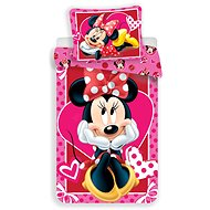 Jerry Fabrics Minnie Hearts 02 - Detská posteľná bielizeň