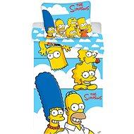 Jerry Fabrics Simpsons Family Clouds - Detská posteľná bielizeň