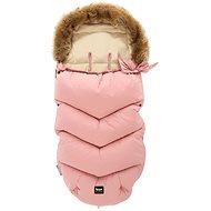 Zopa Zimný fusak Fluffy - ružový - Fusak
