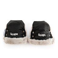 Zopa Zimné rukavice Fluffy - čierne - Rukavice