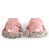 Zopa Zimné rukavice Fluffy – ružové - Rukavice