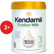 Kendamil batoľacie mlieko 3 (3× 900 g) - Dojčenské mlieko