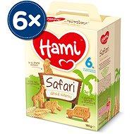 Hami sušienky Safari 6× 180 g - Sušienky pre deti
