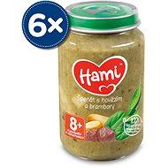 Hami Špenát s hovädzím a zemiakmi, 6× 200 g
