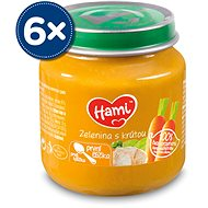 Hami First Spoon Vegetables with Turkey 6 × 125g - Baby Food