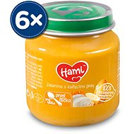 Hami First Spoon Vegetables with Chicken Breast 6 × 125g - Baby Food