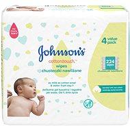 JOHNSON'S BABY Wipes Extra Sensitive 224 ks - Detské vlhčené obrúsky