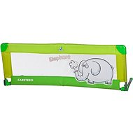 Caretero Mantinel do postieľky Elephant - zelený - Mantinel do postieľky