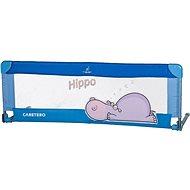 Caretero Mantinel do postieľky Hippo - modrý - Mantinel do postieľky
