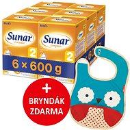 Sunar Complex 2, 6× 600 g + dárek - Dojčenské mlieko