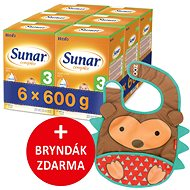 Sunar Complex 3, 6× 600 g + dárek - Dojčenské mlieko