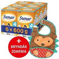 Sunar Complex 4, 6× 600 g + dárek - Dojčenské mlieko