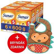 Sunar Complex 5, 6× 600 g + dárek - Dojčenské mlieko