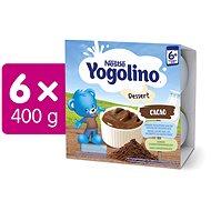 NESTLÉ YOGOLINO Kakao 6× (4× 100 g) - Príkrm