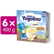 NESTLÉ YOGOLINO Vanilka 6× (4× 100 g) - Príkrm
