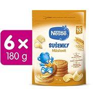 NESTLÉ JUNIOR Maslové Sušienky 6× 180 g - Sušienky pre deti