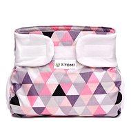T-tomi Abdukčný nohavičky, pink triangles (3 až 6 kg) - abdukčný nohavičky