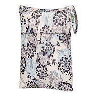 Vrecká na plienky T-tomi Nepromokavé vrecko – sivé kvety