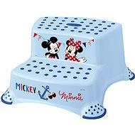 """KEEEPER Dvojstupienok """"Mickey & Minnie"""" - modrý - Stupienok"""