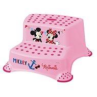 """KEEEPER Dvojstupienok """"Mickey & Minnie"""" - ružový - Stupienok"""