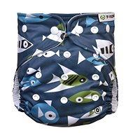 T-tomi AIO Prebaľovacia súprava patentky, Fish - Plienkové nohavičky