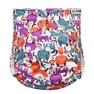 T-tomi AIO Prebaľovacia súprava patentky, Cats - Plienkové nohavičky