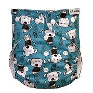 T-tomi AIO Prebaľovací set patentky, Dogs - Plienkové nohavičky