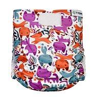 T-tomi AIO Prebaľovacia súprava suchý zips, Cats - Plienkové nohavičky