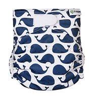 T-tomi AIO Prebaľovacia súprava suchý zips, Whales - Plienkové nohavičky
