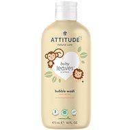 ATTITUDE Baby Leaves s vôňou hruškovej šťavy 473 ml - Detská pena do kúpeľa