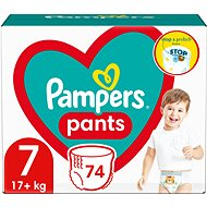 PAMPERS Pants Mega Pack+, vel. 7 (80 ks)