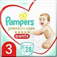 PAMPERS Premium Pants Carry Pack veľkosť 3 (28 ks) - Plienkové nohavičky
