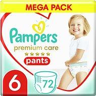 PAMPERS Premium Pants Mega Box veľ. 6 (4× 18 ks) - Plienkové nohavičky
