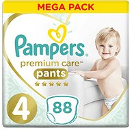 PAMPERS Premium Pants Mega Box vel. 4 (88 ks)