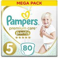 PAMPERS Premium Pants Mega Box veľkosť 5 (80 ks) - Plienkové nohavičky