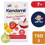Kendamil Bio/organická kaša banán & jahoda 150 g - Nemliečna kaša