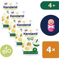 Kendamil Bio/organická bezlepková kaša 4× 150 g